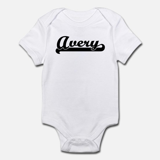 Black jersey: Avery Infant Bodysuit