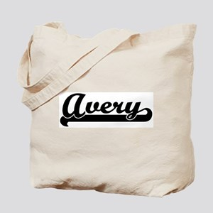 Black jersey: Avery Tote Bag