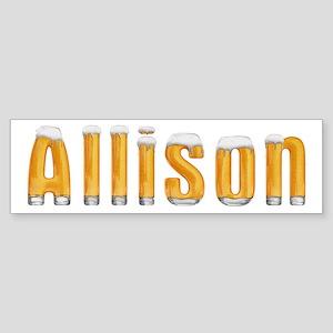 Allison Beer Bumper Sticker