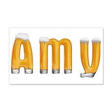 Amy Beer 22x14 Wall Peel