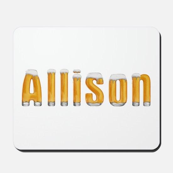 Allison Beer Mousepad
