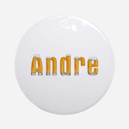 Andre Beer Round Ornament