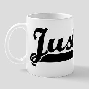 Black jersey: Justin Mug