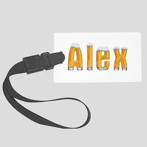 Alex Beer Large Luggage Tag