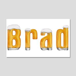 Brad Beer 22x14 Wall Peel