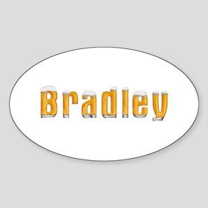 Bradley Beer Oval Sticker