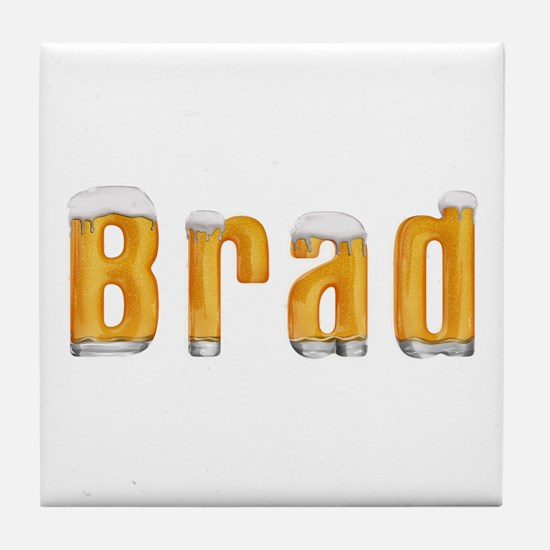 Brad Beer Tile Coaster