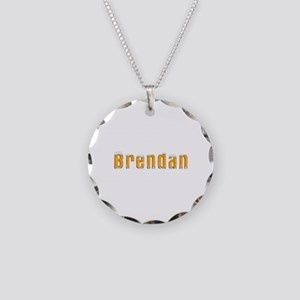 Brendan Beer Necklace Circle Charm