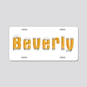 Beverly Beer Aluminum License Plate
