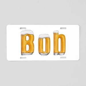Bob Beer Aluminum License Plate