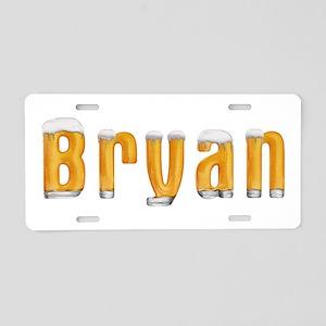 Bryan Beer Aluminum License Plate