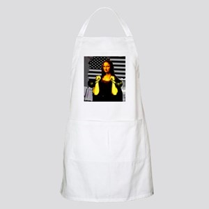 Mona Lisa Hits the Bells Apron