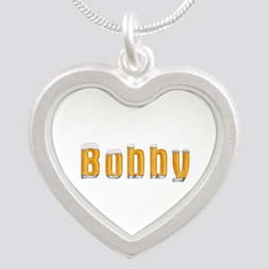 Bobby Beer Silver Heart Necklace