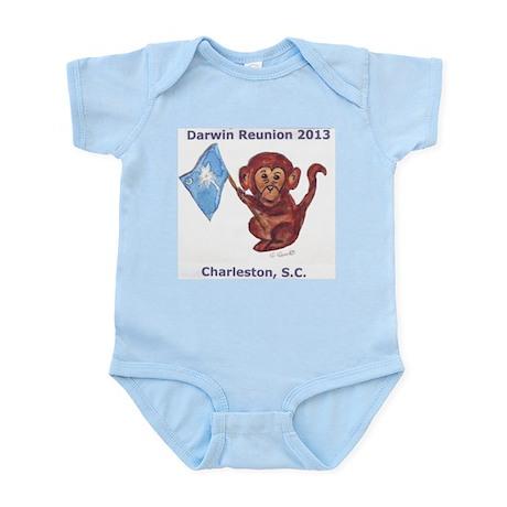 Darwin Reunion 2013 Charleston, SC Infant Bodysuit
