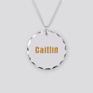 Caitlin Beer Necklace Circle Charm