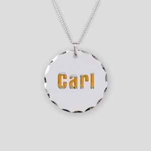 Carl Beer Necklace Circle Charm