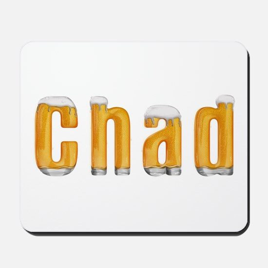 Chad Beer Mousepad