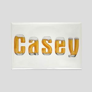 Casey Beer Rectangle Magnet