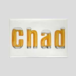 Chad Beer Rectangle Magnet