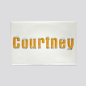 Courtney Beer Rectangle Magnet