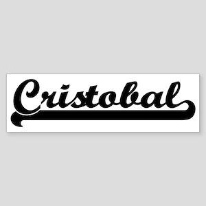 Black jersey: Cristobal Bumper Sticker