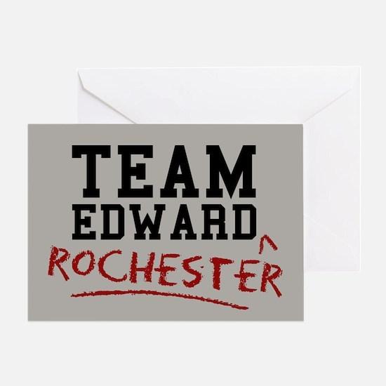 Team Edward Rochester Greeting Card