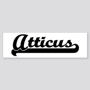 Black jersey: Atticus Bumper Sticker