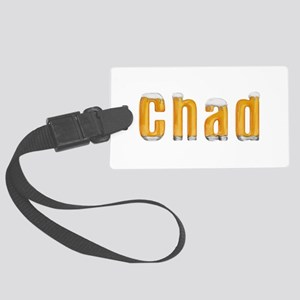 Chad Beer Large Luggage Tag