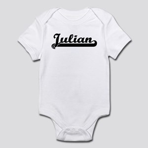 Black jersey: Julian Infant Bodysuit