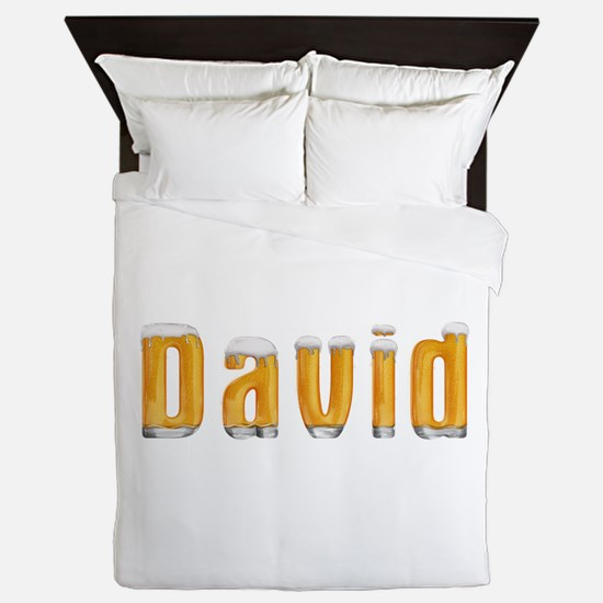 David Beer Queen Duvet
