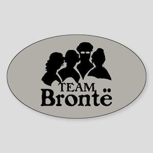 Team Bronte Sticker (Oval)