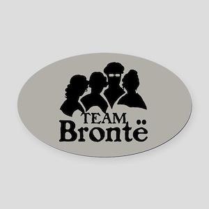 Team Bronte Oval Car Magnet