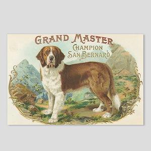 St. Bernard Dog Postcards (Package of 8)