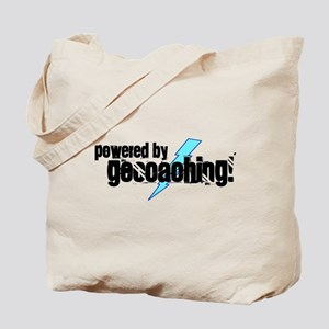 Powered By Geocaching Tote Bag