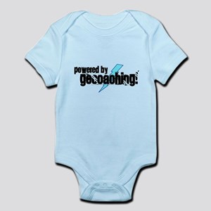 Powered By Geocaching Infant Bodysuit