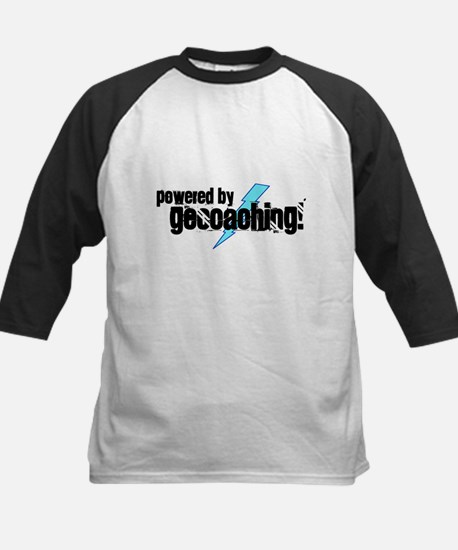 Powered By Geocaching Kids Baseball Jersey