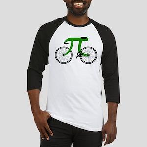 Pi Bike green Baseball Jersey