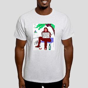 Bigfoot At The Beach T-Shirt
