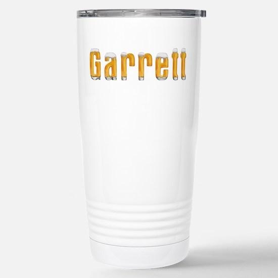 Garrett Beer Stainless Steel Travel Mug