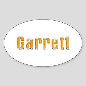 Garrett Beer Oval Sticker