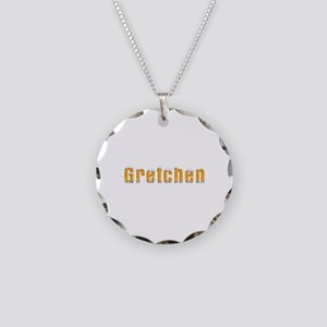 Gretchen Beer Necklace Circle Charm