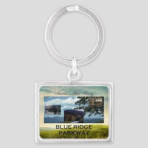 Blue Ridge Americasbesthistory. Landscape Keychain