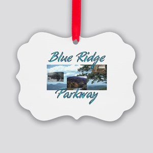 Blue Ridge Americasbesthistory.co Picture Ornament