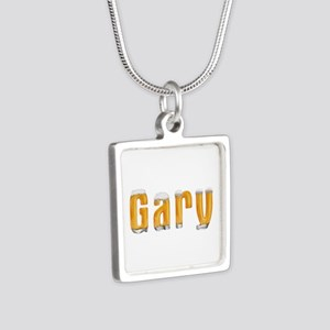 Gary Beer Silver Square Necklace