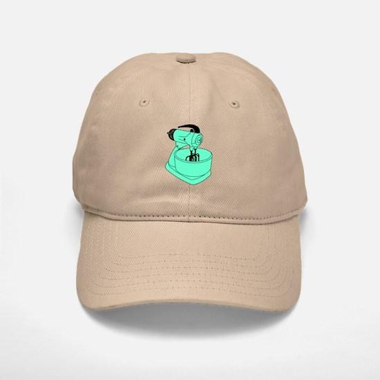Vintage Green Sunbeam Mixmaster Baseball Baseball Cap