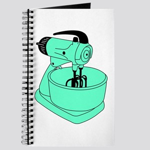 Vintage Green Sunbeam Mixmaster Journal