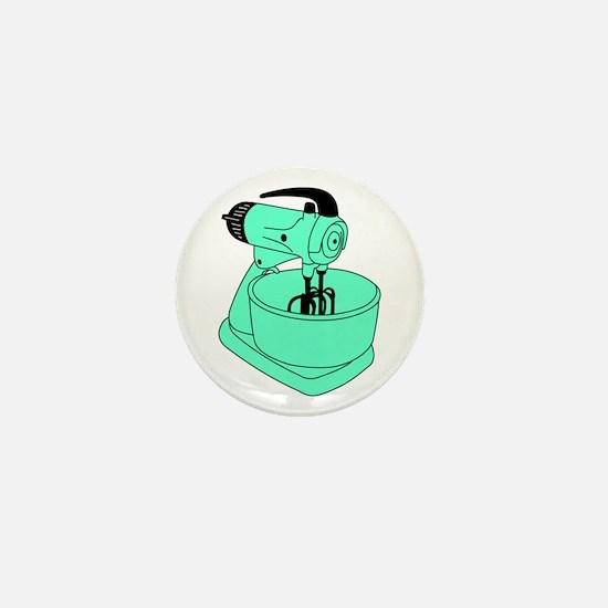 Vintage Green Sunbeam Mixmaster Mini Button