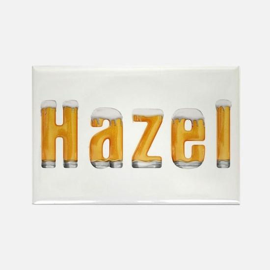Hazel Beer Rectangle Magnet
