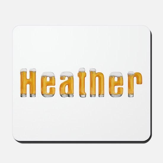 Heather Beer Mousepad