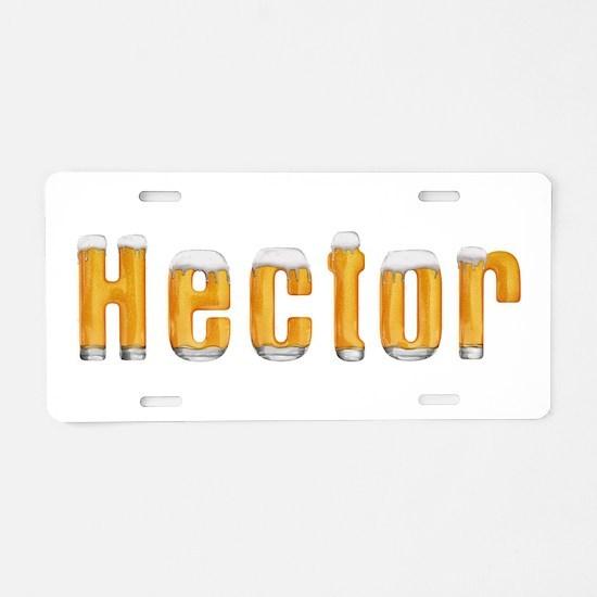 Hector Beer Aluminum License Plate
